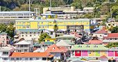 Colorful Buildings In Bridgetown Barbados