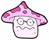 nauseous magic mushroom cartoon