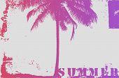 Summer Typographic Grunge Vintage Poster Design. Retro Vector Illustration. poster