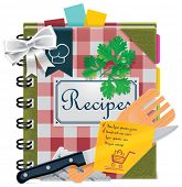 Vector cooking book XXL icon