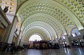 foto of amtrak  - Union Station interior architecture - JPG