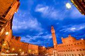 Piazza del Combo, Siena, Tuscany, Italy