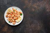 Roasted Shrimps, Prawns poster