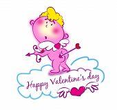 Sweet Cupid Isolated