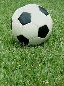 Soccer Ball Centered