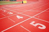 stock photo of 8-track  - Running track - JPG