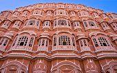 Hava Mahal, Jaipur, Indien.