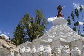 Go Mang Stupa near Leh, Ladakh, India