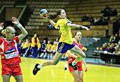 Handball. Frau