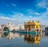 picture of harmandir sahib  - Sikh gurdwara Golden Temple  - JPG