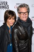 LOS ANGELES - NOV 19:  Lisa Rinna, Harry Hamlin arrives to the 'Silver Linings Playbook' LA Premiere