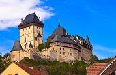Castle Karlstejn In Czech Republic