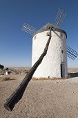 Traditional Windmills In Spain