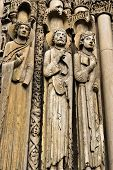 Statues of Chartres Cathedral