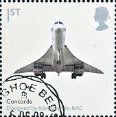Großbritannien ca. 2009: eine Briefmarke gedruckt in Großbritannien widmet Design Klassiker zeigt Con