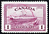 Postage stamp Canada 1946 Train Ferry, Prince Edward Island