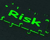 Risk Puzzle Shows Danger And Unsafe