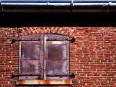 Window On Brick