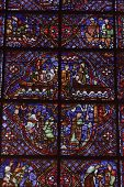 Stained Glass of the Chartres Cathedral