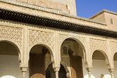 Patio Of Arrayanes Of Alhambra, Granada, Spain