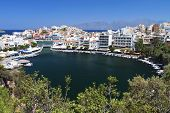 Agios Nikolaos city, Crete island, Greece