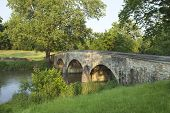 Burnside's Bridge At Antietam (sharpsburg) Battlefield In Maryland Royalty Free Stock Photo    Find