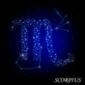 Sign of the zodiac - Scorpius.