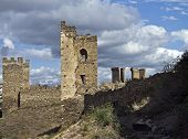 Ruins Of Old Fortress.