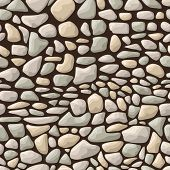 Seamless stone pattern
