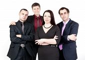 Four Business People