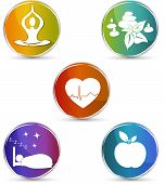 stock photo of life-support  - Health symbols - JPG