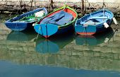 3 Fishing Boats Moored