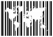 Shopping Bar Code With World Map