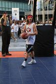 LOS ANGELES - AUG 9:  CIsco Adler at the Josh Hutcherson Celebrity Basketball Game benefiting Straig