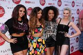 LOS ANGELES - AUG 9:  Jesy Nelson, Jade Thirlwall, Leigh-Anne Pinnock, Perrie Edwards at the Teen Vogue's Back-To-School Saturday Kick-Off Event at the The Grove on August 9, 2013 in Los Angeles, CA