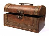 Antique Rustic Wooden Box