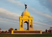 Pennsylvania Monument In Gettysburg