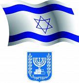 Israel Wavy Flag And Coat