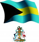 Bahamas Wavy Flag And Coat