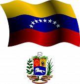 Venezuela Wavy Flag And Coat