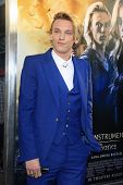 LOS ANGELES - AUG 12: Jamie Campbell Bower at the premiere of 'The Mortal Instruments: City of Bones