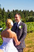 Bride And Groom Vows Ceremony