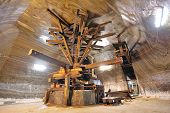 Old  Extraction Salt Machine