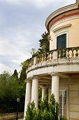 Mon Repo palace at Corfu island, Greece