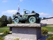 Maine State World War II Memorial in Bangor, Maine
