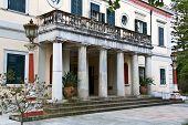 Mon Repo palace in Corfu island, Greece
