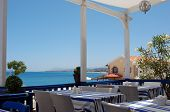 Lunch on Crete Island