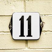 Постер, плакат: Number 11