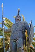 Achilion palace, Corfu island, Greece
