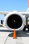 Air Transportation: Jet Engine Detail